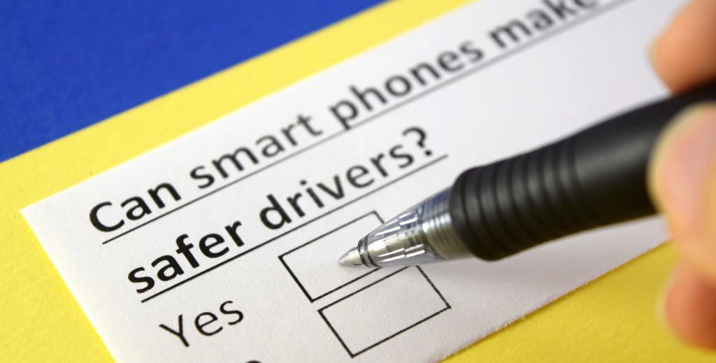 Smart Phones Link to Safer Drivers