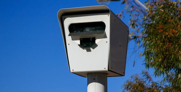 Australian Speed Camera