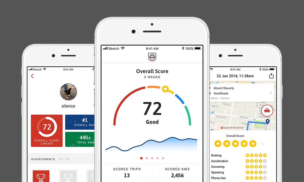 UbiCar app