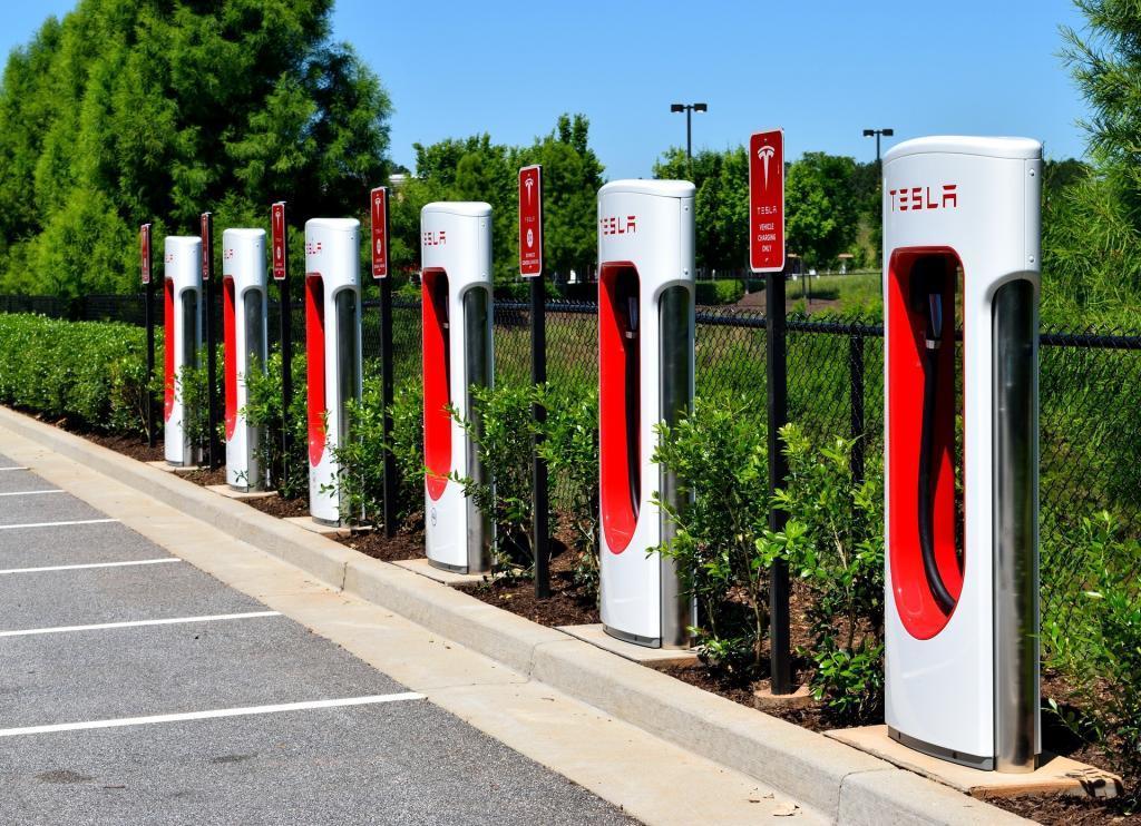 Tesla Car Charging Points
